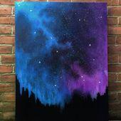 Mildes Wunder: Stardust Galaxy (original Kunst gro…