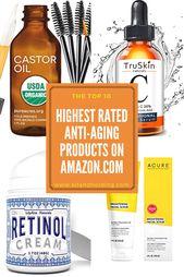 Die Anti-Aging-Produkte von Frauen bei Amazon kaufen immer wieder! Hier sind die h … – Best Face Serum