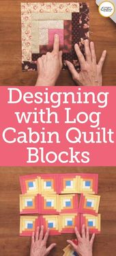 Log Cabin Quilt Block Patterns