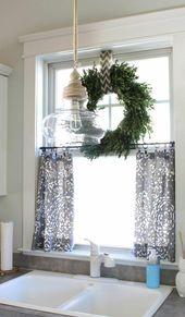 Vorhang Ideen, um kleine Stilfenster zu füllen