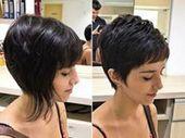 30 Süße und einfache Frisuren für kurzes Haar | Süße kurze Frisuren #longpixiehaircuts 25 Süße kurze Frisuren von Pixie