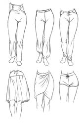 The second important feature that makes your manga clothing look believable … #drawings #art