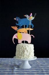 86 tolle Ideen für Geburtstagskuchen – Taufe und Partys für Kinder – #Kinder