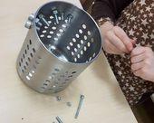 Feinmotorik Übungen für Kinder: Ein einfacher IKEA Hack