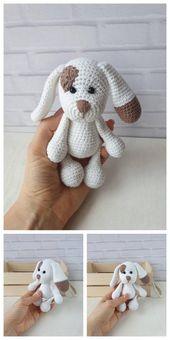 Amigurumi tedy bear and dog crochet plush free pat…