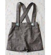 Kostenlose Anleitung: Vintage-inspirierte Baby-Straps-Shorts   – Boys' Fashion