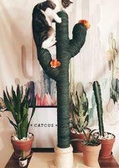 KAKTUS für KATZEN CATCUS Kratzbaum Kratzbaum Boho | Etsy – #boho #catcus #einri… – Meine Board