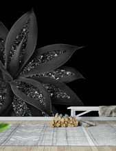 Agave Finesse Glitter Glam 7 Wall Mural / Wallpaper Nature
