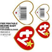 Free TY Beanie Baby and Pet Printable Halloween Costume Gerber Purina One Savvy …