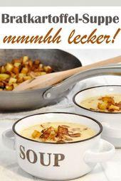 Sopa de papa frita. ¡Delicioso!   – Suppen für Kinder