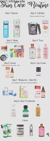 Hautpflegeprogramm für Teens # FashionShoot #Fashioninsta #FashionTrend #Fashion …   – tomikoboughter