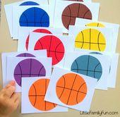 Hunderte von einfachen Bastel- und Aktivitätsideen, um Spaß mit Kindern im Vorschulalter zu haben …   – Preschool art