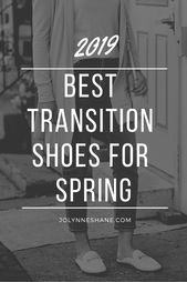 Greatest Transition Footwear for Spring