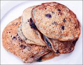 Vegan Blueberry Oat Pancakes – Pancakes with no Eggs – Recipe for Easy Panca…   – pancakes