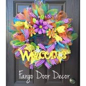 Spring Welcome Wreath