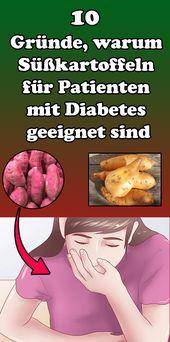 10 Gründe, warum Süßkartoffeln für Patienten mit Diabetes geeignet sind