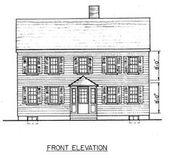 Einfacher Saltbox-Hausplan   – Colonial Saltbox Floor Plans