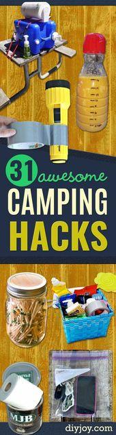 DIY Campinghackar – Enkla tips och tricks, Recept för camping – Gear Ideas, Chea …