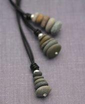 Cairn pendant, Made in USA #anhanger #jeweleryideas #steinhaufen