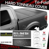 Sponsored Ebay Lock Tri Fold Hard Solid Tonneau Covers For 2009 2014 Ford F 150 8 Ft Long Bed In 2020 Tonneau Cover Tri Fold Tonneau Cover Ford F150