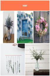 65 Farmhouse Lavender Arrangement – Farmhouse Room Blumenarrangements im Haus – fleurs-diy