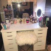 Make-up-Tasche jeden Monat, obwohl Make-up Vanity Box ohne Make-up Vanity Decor Idea …   – Makeup Vanity