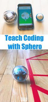 Sphero Robots for STEAM Teaching