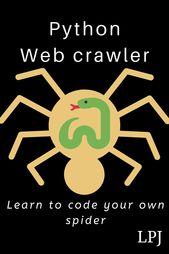 Python Web Crawler. Spider coding simplified