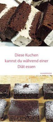 Kuchen zum Abnehmen: Diese Kuchen kannst du während einer Diät essen – Backideen