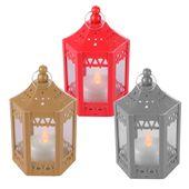 Photo of Mini Weihnachtslaterne Flimmern Teelicht hängen Weihnachtsanzeige Windowsill Ornament