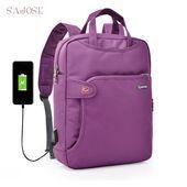 USB Charge Anti Diefstal Rugzak Dames Mode Reizen Beveiliging Waterdicht School …   – Womens Bag