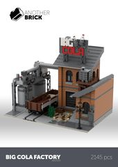 LEGO Big Cola Factory   – Lego