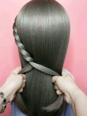Simple hairstyle,I hope you like it #Shorthairstyles – Short hairstyles