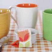Bolsas de té reutilizables de bricolaje