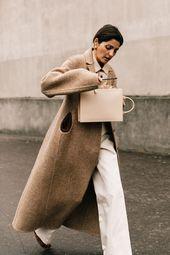 Avenue type à la Vogue Week automne-hiver 2019-2020 de Paris