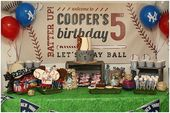 Batter Up, Cooper's Turning 5! (Pizzazzerie)