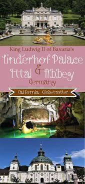 King Ludwig Ii Of Bavaria S Schloss Linderhof Linderhof Palace Travel Destinations European Germany Castles