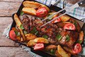 Receta de costillas al horno con papas al horno   – Comida facilitas