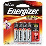 Energizer Max Alkaline Batteries Aaa 4 Batteries Pack Alkaline Battery Energizer Alkaline