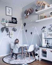 55+ Beste Ideen: Fun Kid Play Room Design, das Sie in Ihrem Haus haben müssen – Stephanie Esquivel – Dekoration – Kinderzimmer Ideen