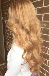 21+ Trendy Golden Blonde Haarfarbe Ideen – Hellgoldene Blond Haarfarbe – # …   – My Blog