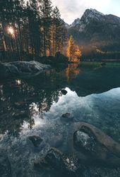 Landschaftsfotografie. Ideen für die digitale Fotografie. Einfallsreiches digitales Foto …