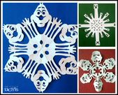 25 kreative Schneeflocken