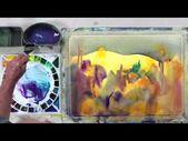 In diesem Video eröffnet Steve seine Atelier-Malpraxis, wo er genau das macht …