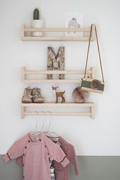 Ikea Hack for Kids: Cloud Shelves