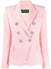 Balmain double breasted blazer – PINK