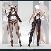 (GESCHLOSSEN) Adoptable Outfit Auction 277-278 von JawitReen.deviant … auf @DeviantArt