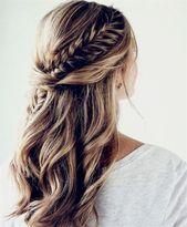 Fischschwanz Frisur ist eine der besten Frisur und trendige Mode auf der ganzen … – Frisuren