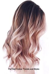 Fall Hair Colour Trends and Styles #womenhair #trendyhairs