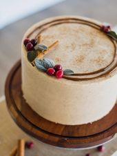 Eggnog Cake   – Wunderschöne Torten